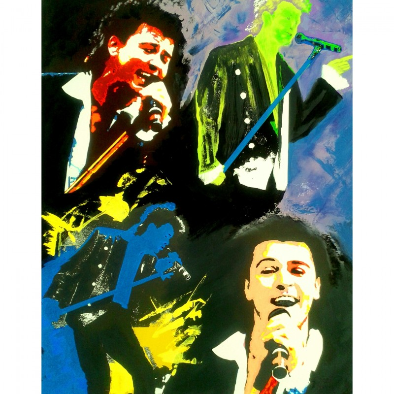 """""""Paul Young Live"""" by Gabriele Salvatore - Signed by Paul Young"""