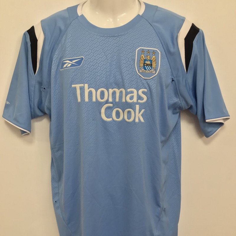 Manchester City Worn Shirt, 2004