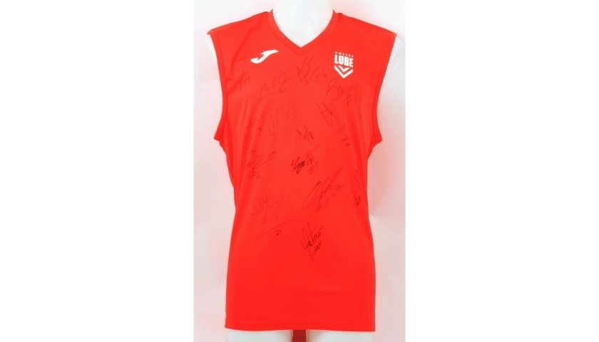 Lube Volley Vest, 2017/18 - Signed by the Squad