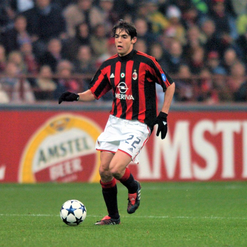 Kaka's Milan Match Shirt, 2003/04