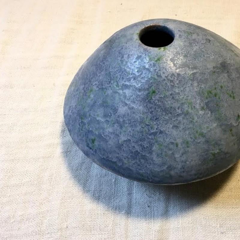 Anemone jar realized by Adriana Albertini