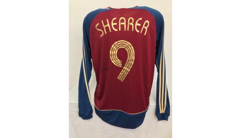 Shearer's Official Newcastle Signed Shirt, 2006/07