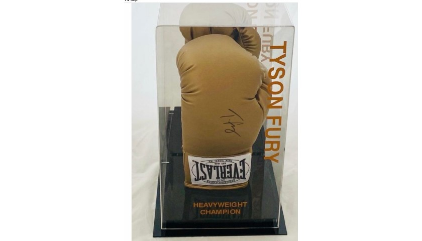 Tyson Fury Gypsy King Signed Boxing Glove