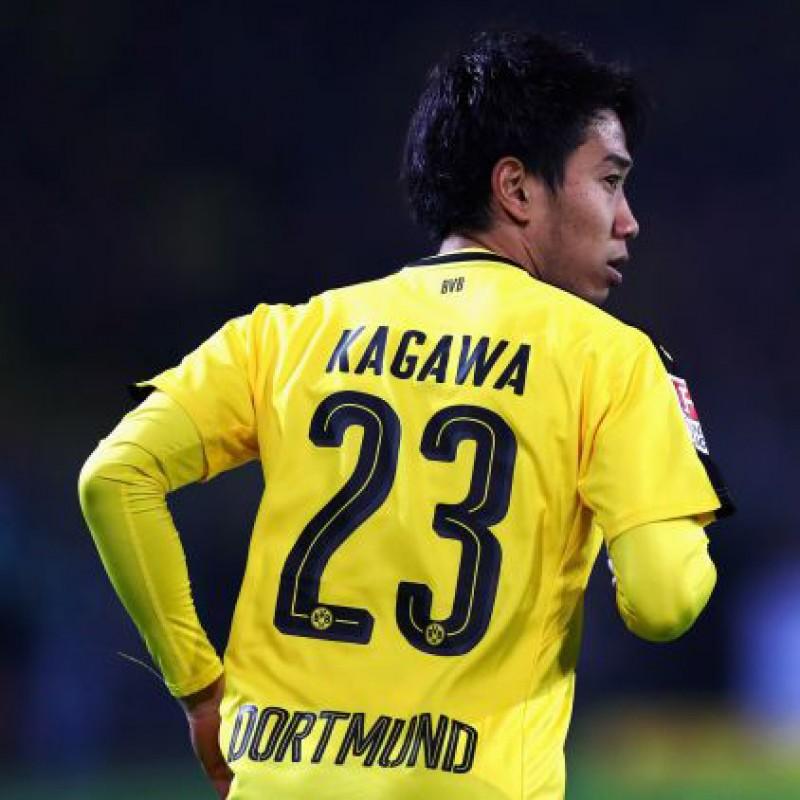 Kagawa's Official Borussia Dortmund Signed Shirt, 2016/17