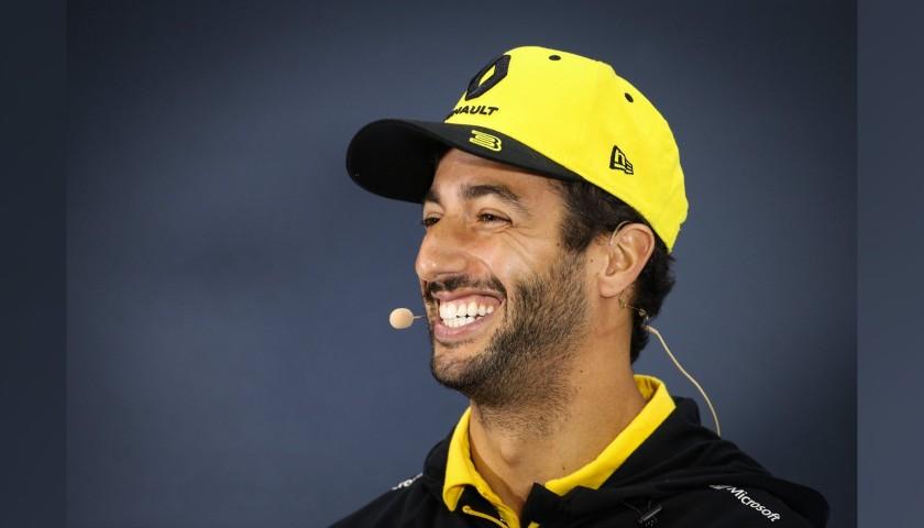 Visor Signed by Daniel Ricciardo