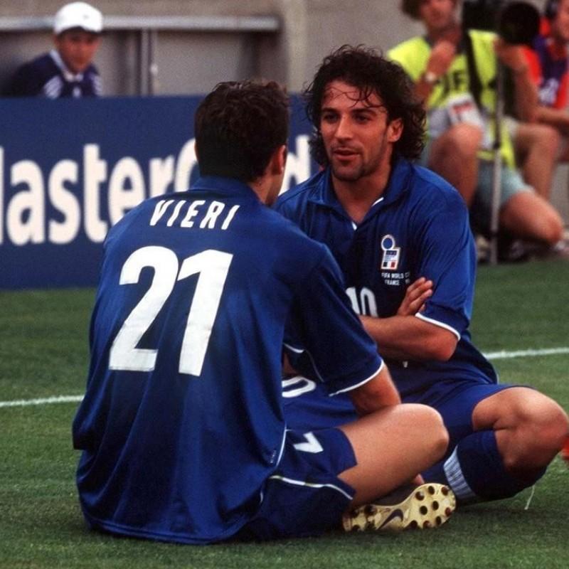Del Piero's Italy Signed Shirt, 1996