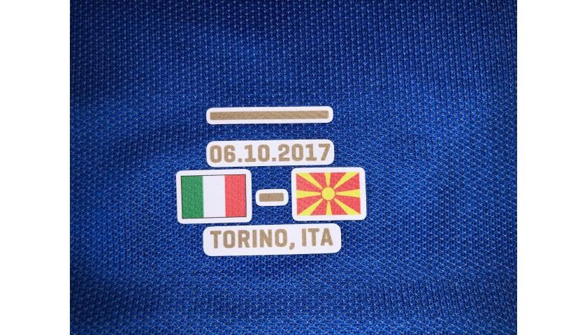 Buffon's Match Shirt, Italy-Macedonia 2017