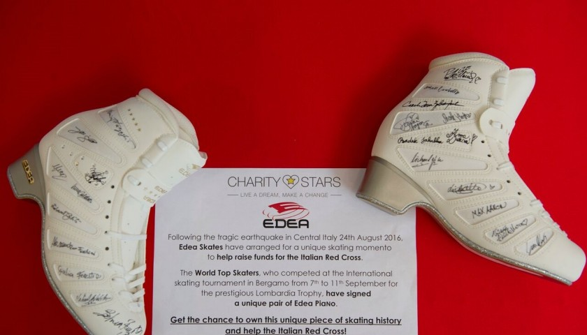 EDEA Skates, signed by all the most important skaters of the world