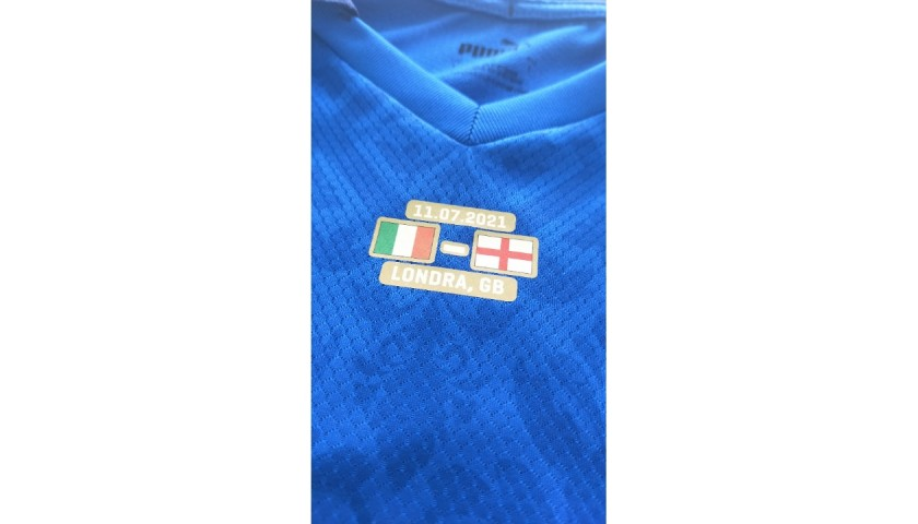 Meet Spinazzola and Receive his Match-Issued Euro 2020 Final Shirt