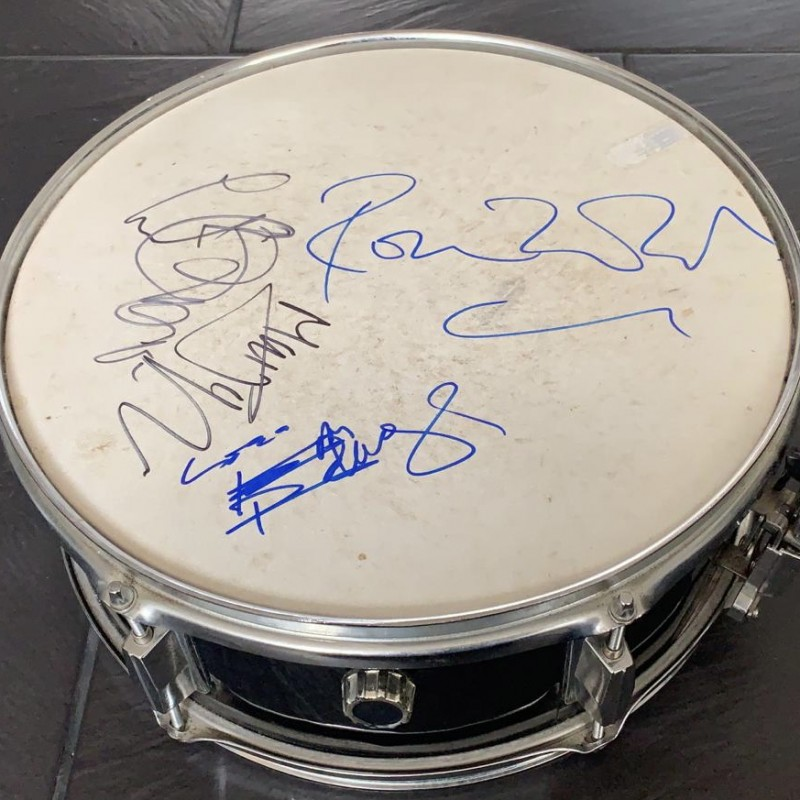 The Rolling Stones Signed Drum