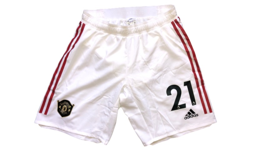 James' Manchester United Match Shorts, 2019/20