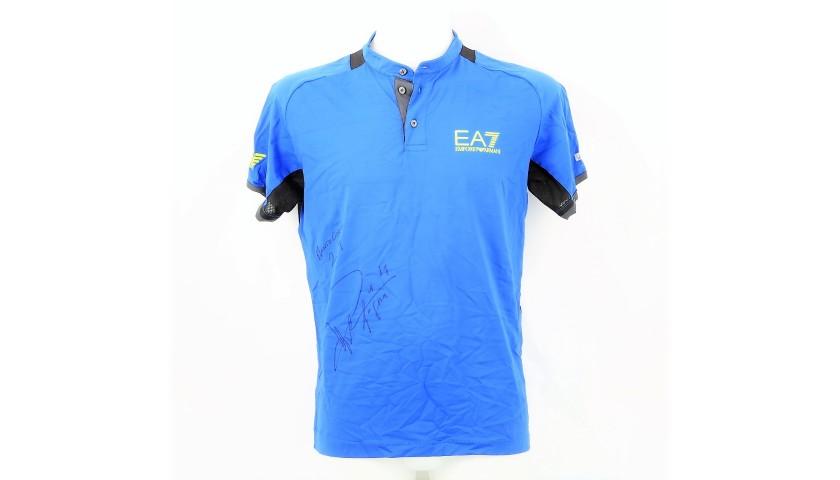 Fabio Fognini's Shirt Worn for Montecarlo Masters 2019 Victory