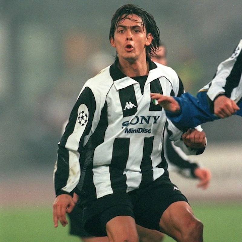Inzaghi's Official Juventus Signed Shirt, 1997/98