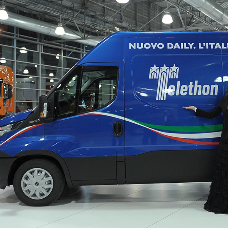 New Daily Van Iveco with unique design