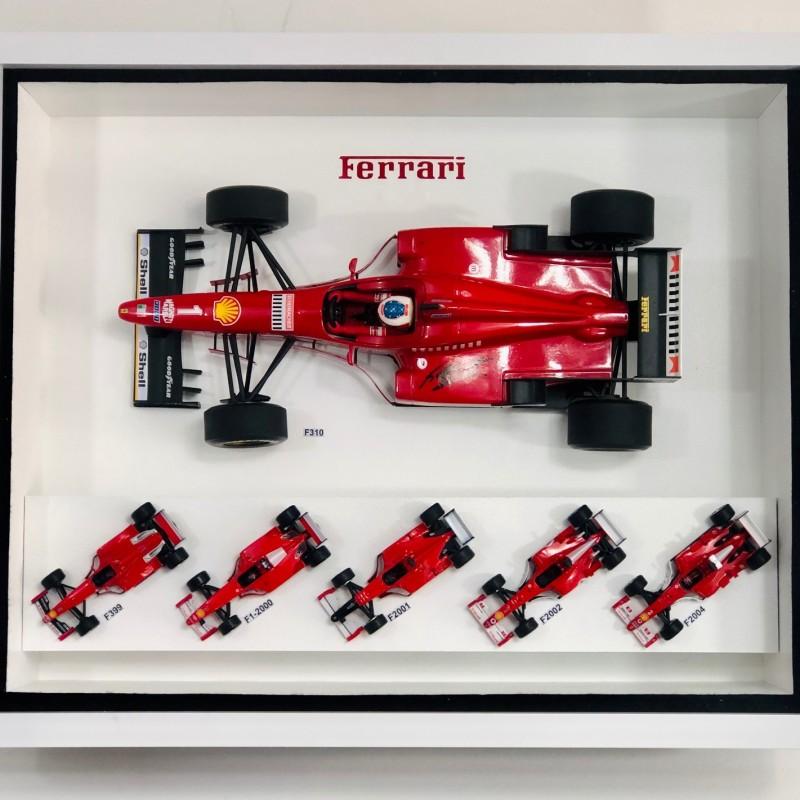 Michael Schumacher Ferrari Car Collection