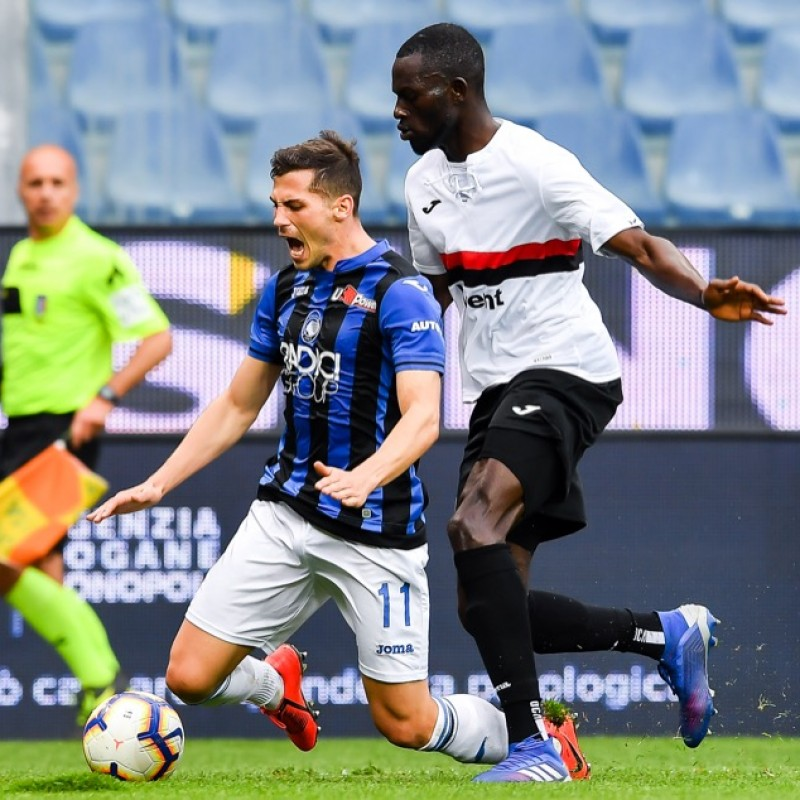 Colley's Worn Shirt, Sampdoria-Atalanta - Special 120th Anniversary Edition