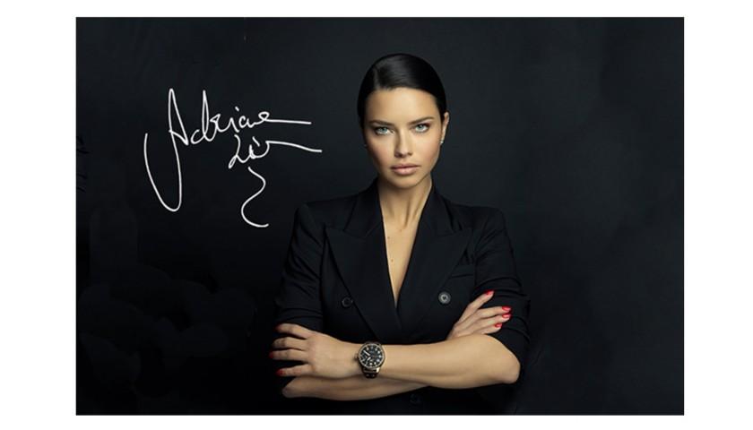 Adriana Lima Autographed Boxing Photo