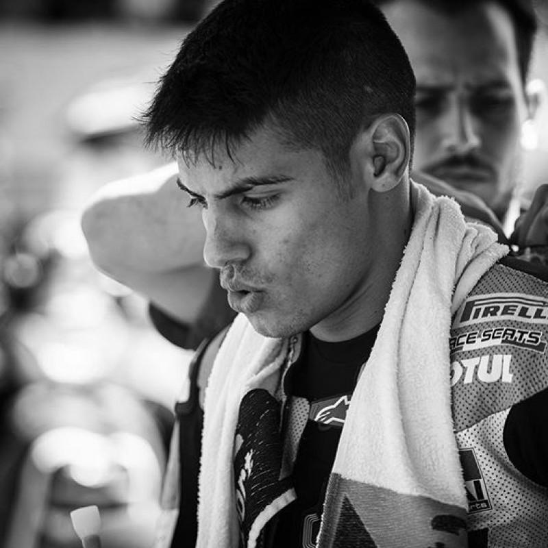 Michael Rinaldi's Special Helmet worn in the Australian Superbike Grand Prix 2020