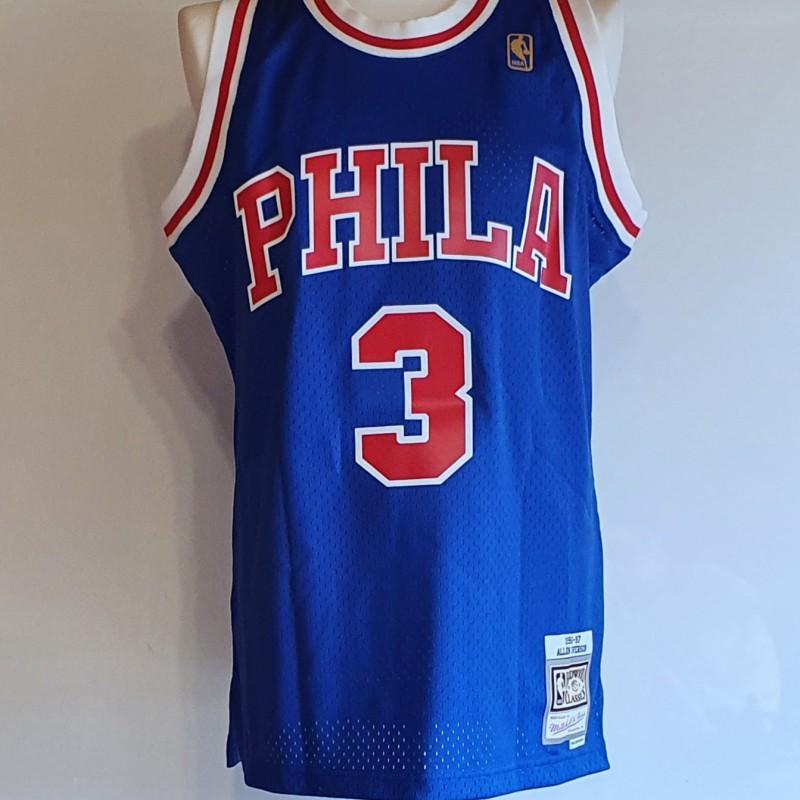 Iverson's Philadelphia 76ers 1996-97 Signed Shirt