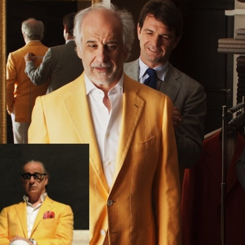 Dress like Toni Servillo in La Grande Bellezza: a made to measure suit by Attolini Atelier