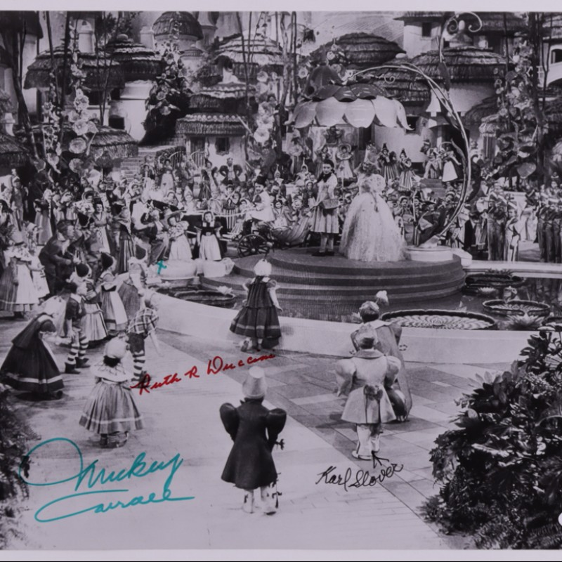 The Wizard of Oz Signed Photograph