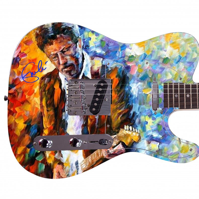 Eric Clapton Custom Graphics Guitar