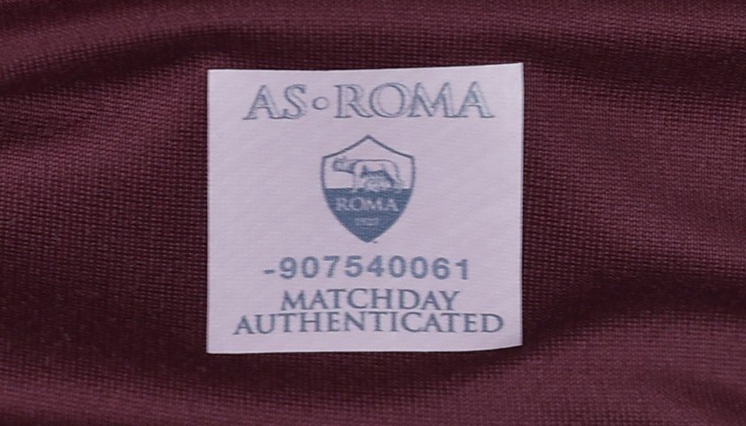 Pjanic AS Roma shirt, AS Roma authenticity
