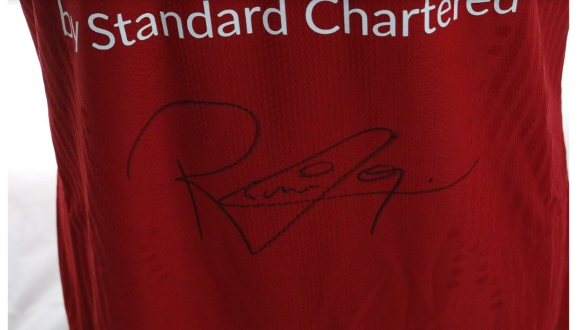 Firmino's Liverpool FC Match-Issued and Signed Shirt, Limited Edition 20/21