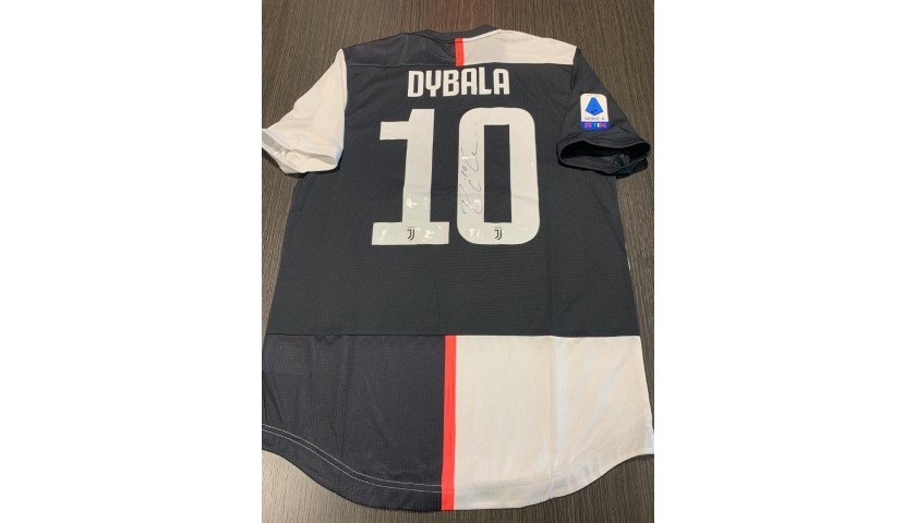 Dybala's Juventus Signed Match Shirt, 2019/20