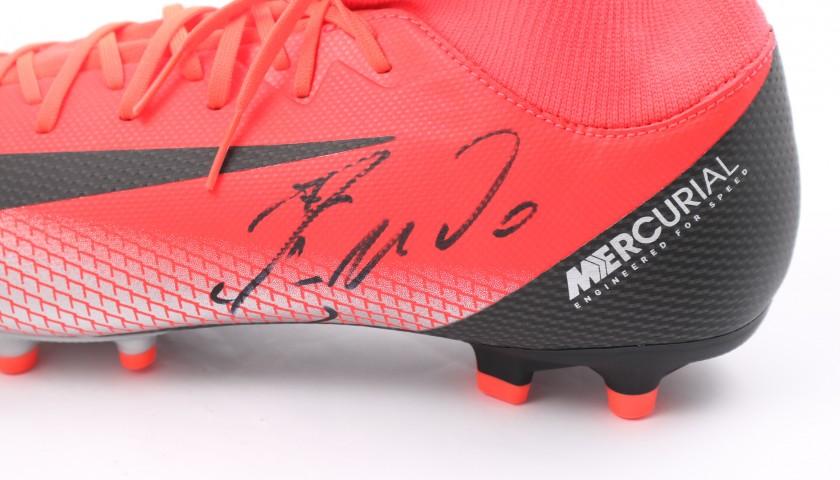 online store b53ba 0e0bd Cristiano Ronaldo's Nike Mercurial CR7 Signed Boots - CharityStars