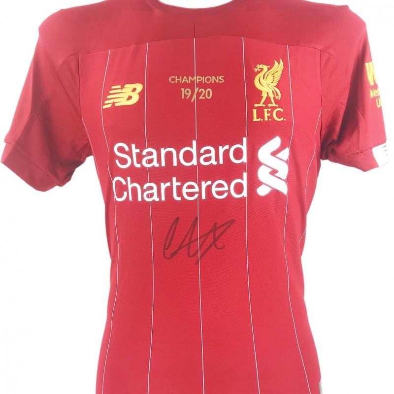 Alexander-Arnold Liverpool Premiership Champions Signed Shirt, 2020