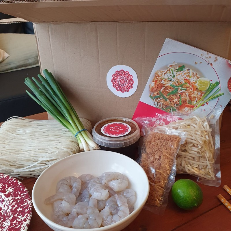 Rosa's Thai Kitchen Meal Kit for 4