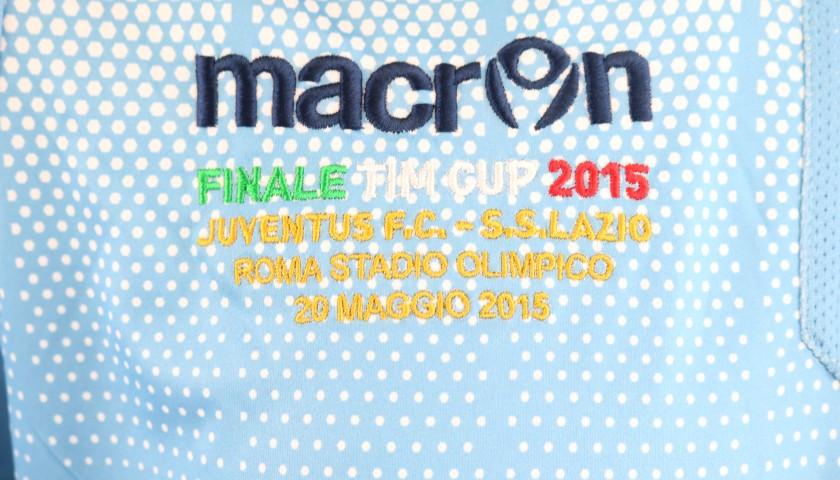 Candreva's Lazio Match Shirt, TIM Cup 2015 Final