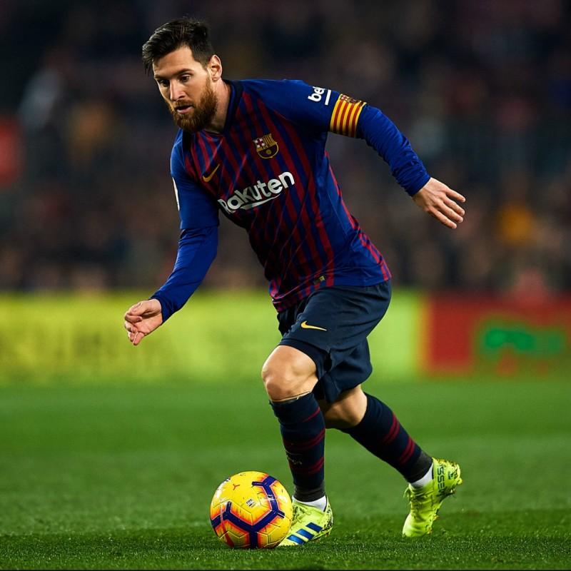 Messi's Barcelona Match Shirt, Copa del Rey 2018/19