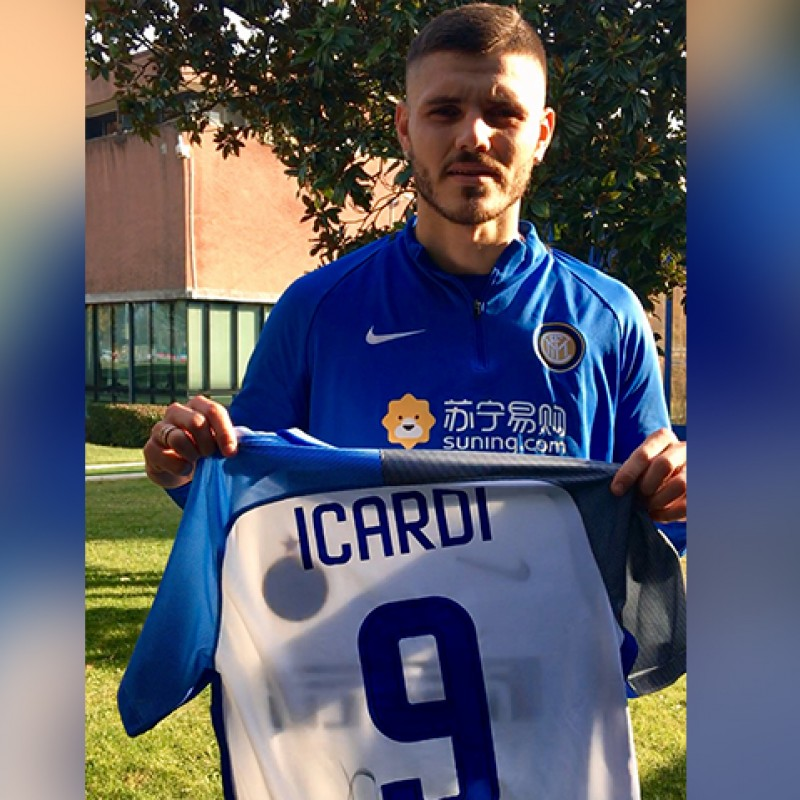 Official Icardi 2017/18 Inter Shirt, Signed
