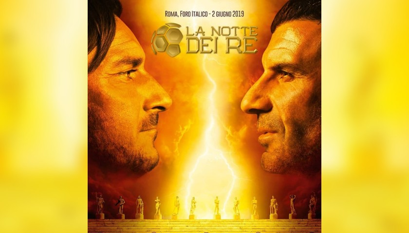 """Enjoy a """"Night of Kings"""" Soccer Experience with Totti and Figo"""