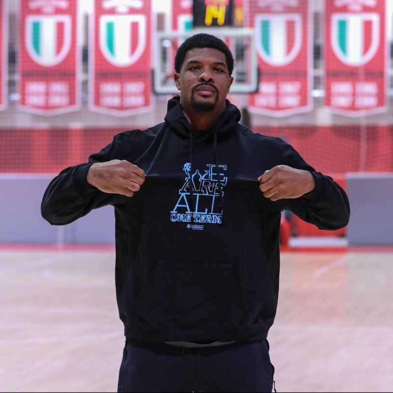 Hines' Official WE ARE ALL ONE TEAM Worn Sweatshirt