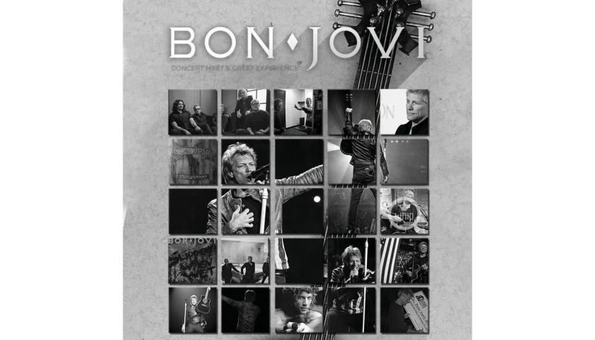 Meet Jon Bon Jovi at an Intimate Concert & Receive a Personalized Guitar