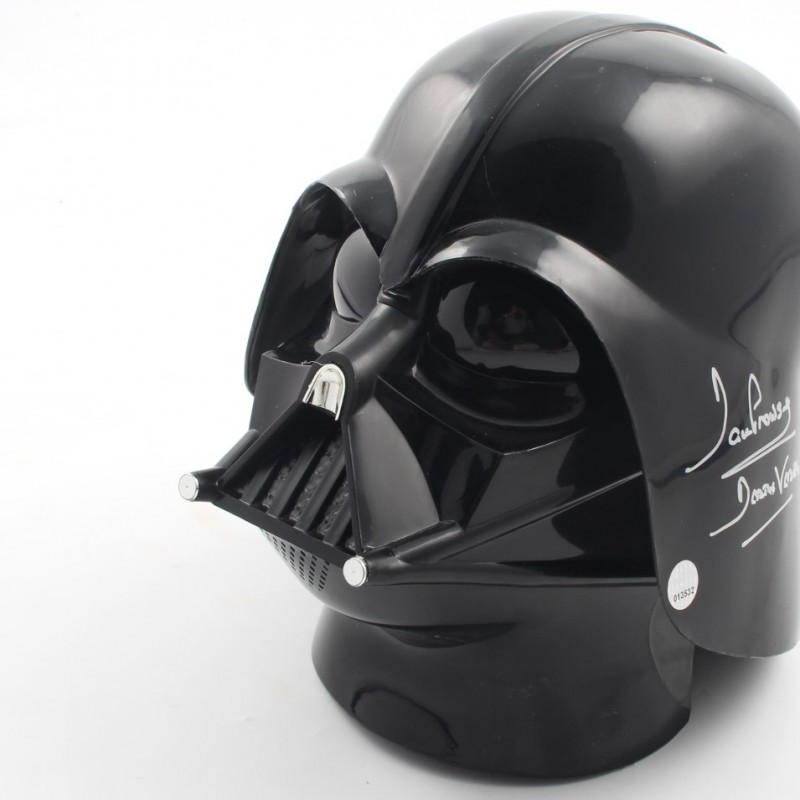 Darth Vader Helmet Signed by Darth Vader Actor David Prowse