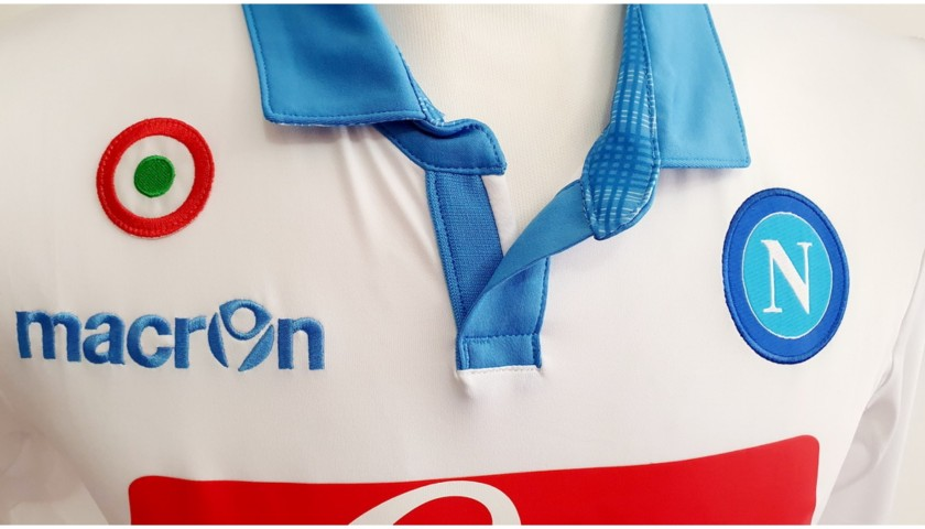 Mertens' Napoli Worn and Signed Shirt, 2014/15