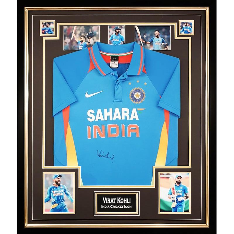 Virat Kohli India Cricket Signed Shirt