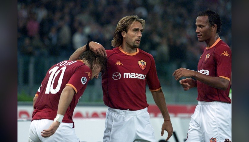 Batistuta's Roma Signed Match Shirt, 2002/03