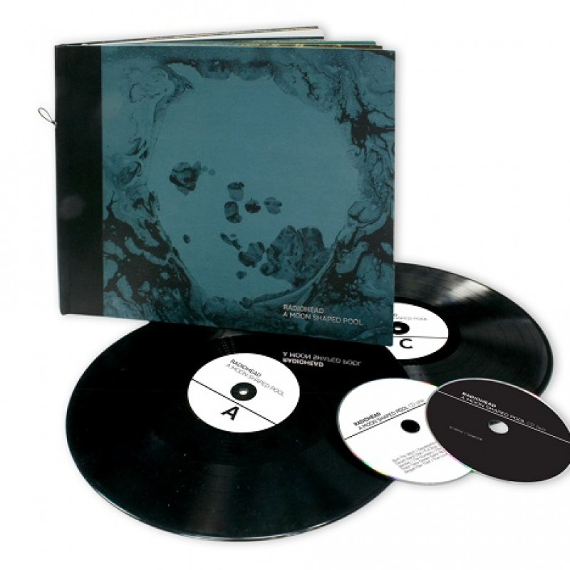 """""""A Moon Shaped Pool"""" by Radiohead - Autographed Special Limited Edition Box"""
