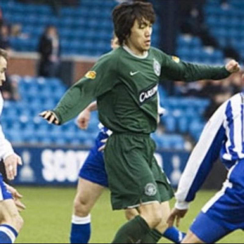 Nakamura's Official Celtic Signed Shirt, 2007/08