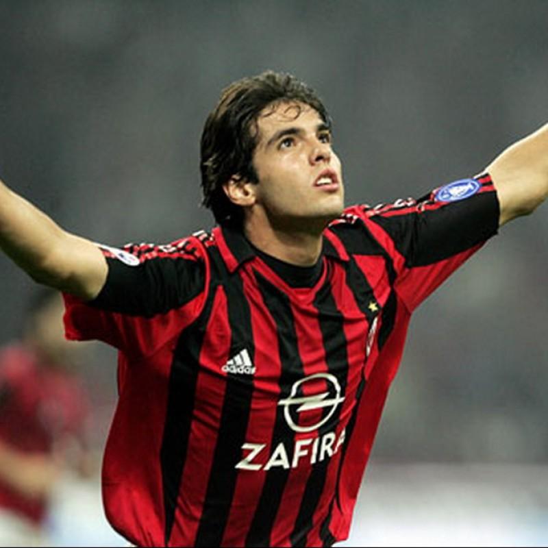 Kaka's Official Milan Signed Shirt, 2005/06