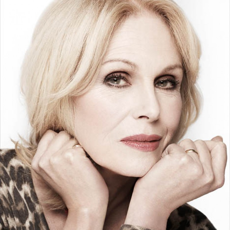 Win a Personalised Christmas Message from Joanna Lumley