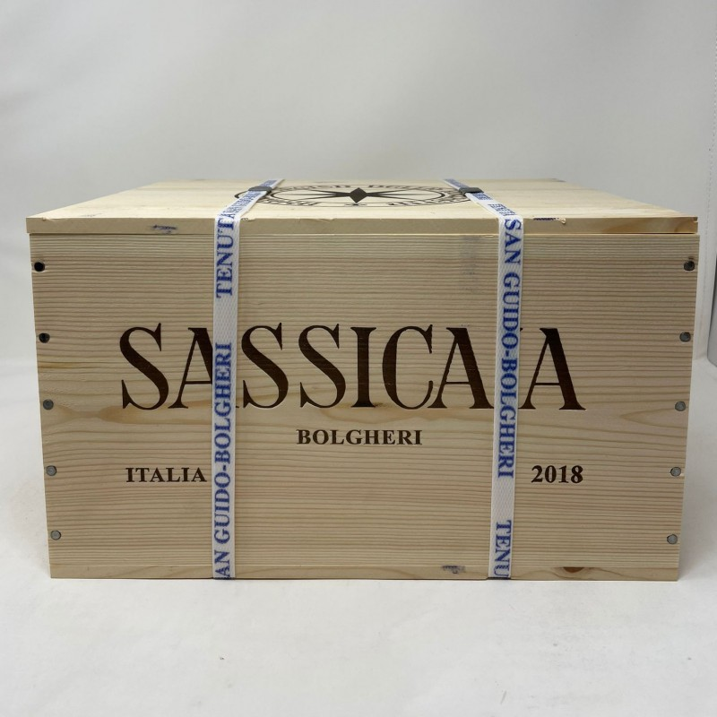 San Guido Bolgheri Sassicaia 2018 OWC