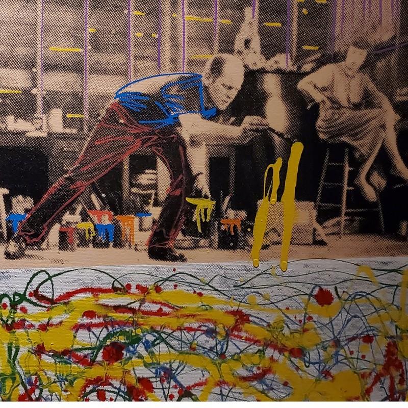 """""""Jackson Pollock"""" by Steve Kaufman"""