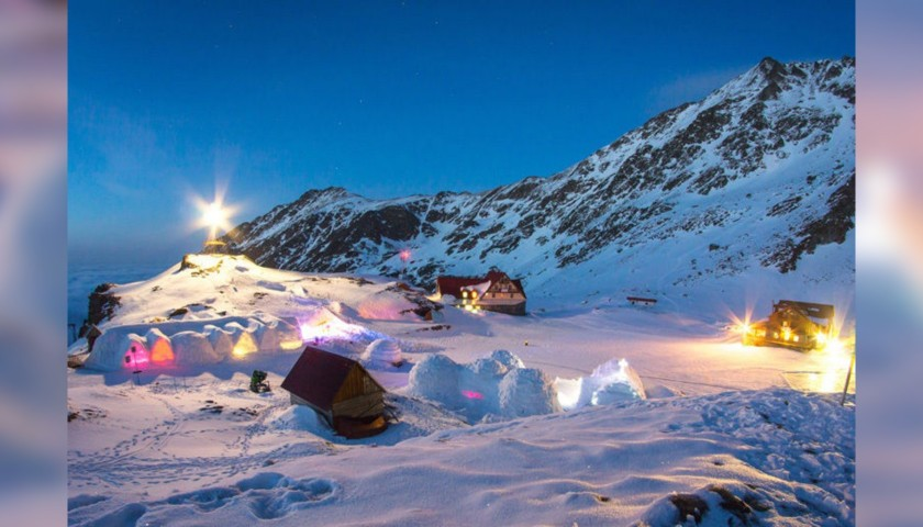 7-Night Ice Hotel Transylvania Ski Experience for 2