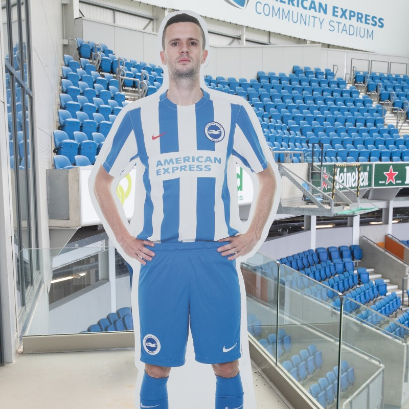 Jamie Murphy Signed Cardboard Cut-Out
